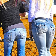 Britney & Brandi | Horse Race Handicappers's Horse Racing Girls