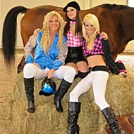 The Whitley Girls | Our Horse Gambling Girls
