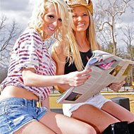 Britney & Brandi | Horse Race Handicappers's Horse Racing Handicappers