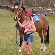 Brandi | Horse Race Handicappers's Horse Race Gambling Girl